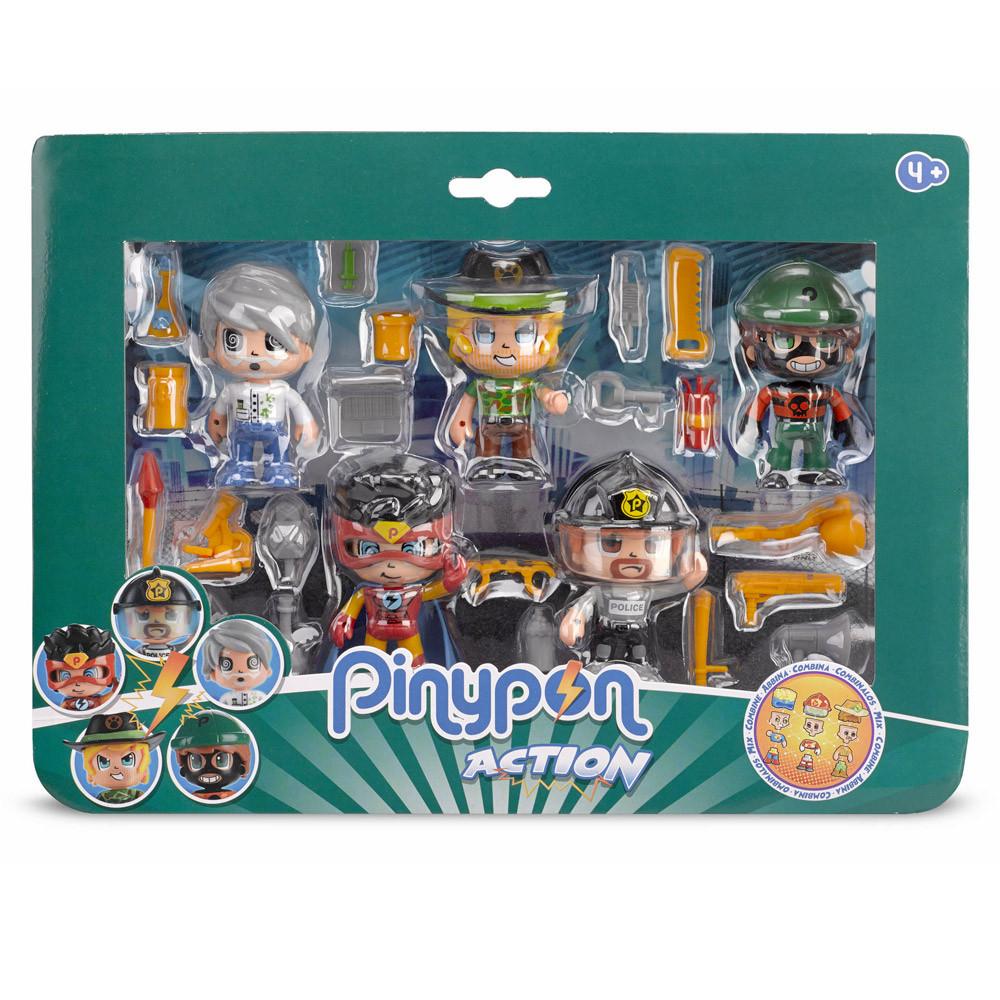 Pinypon Action - 5 Φιγούρες