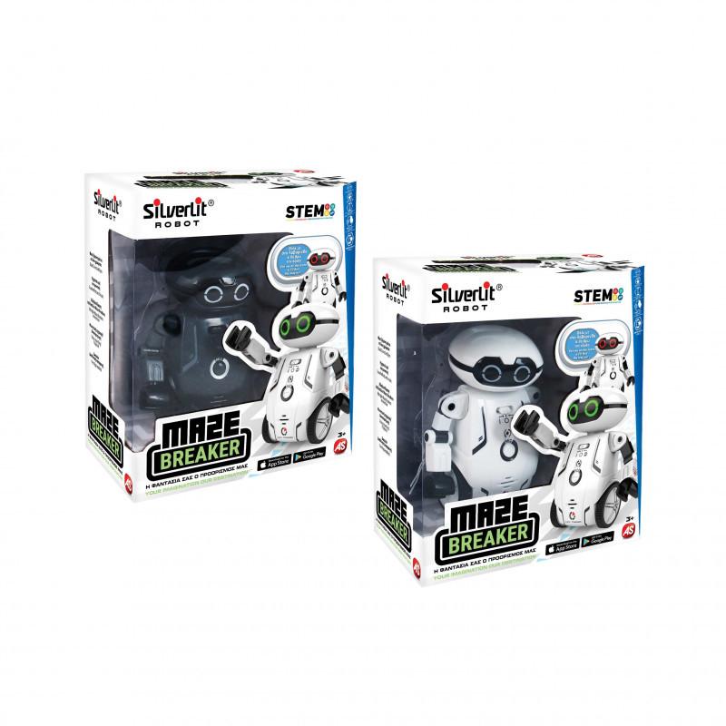 Silverlit Ηλεκτρονικό Robot Maze Braker (2 Χρώματα) (7530-88044)