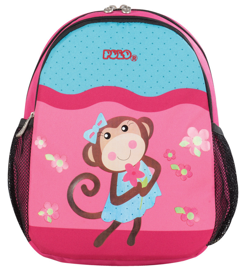 Polo Σακίδιο Νηπιαγωγείου Animal Junior Μαϊμουδιτσα (9-01-014-62)