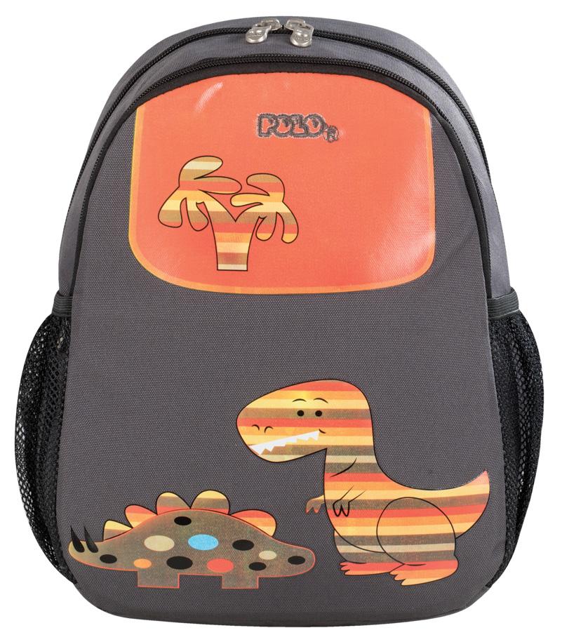 Polo Σακίδιο Νηπιαγωγείου Animal Junior Δεινόσαυρος (9-01-014-64)