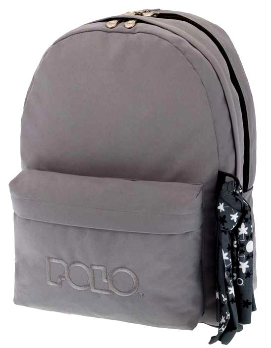 POLO Τσάντα Double Scarf Γκρι (9-01-235-09)