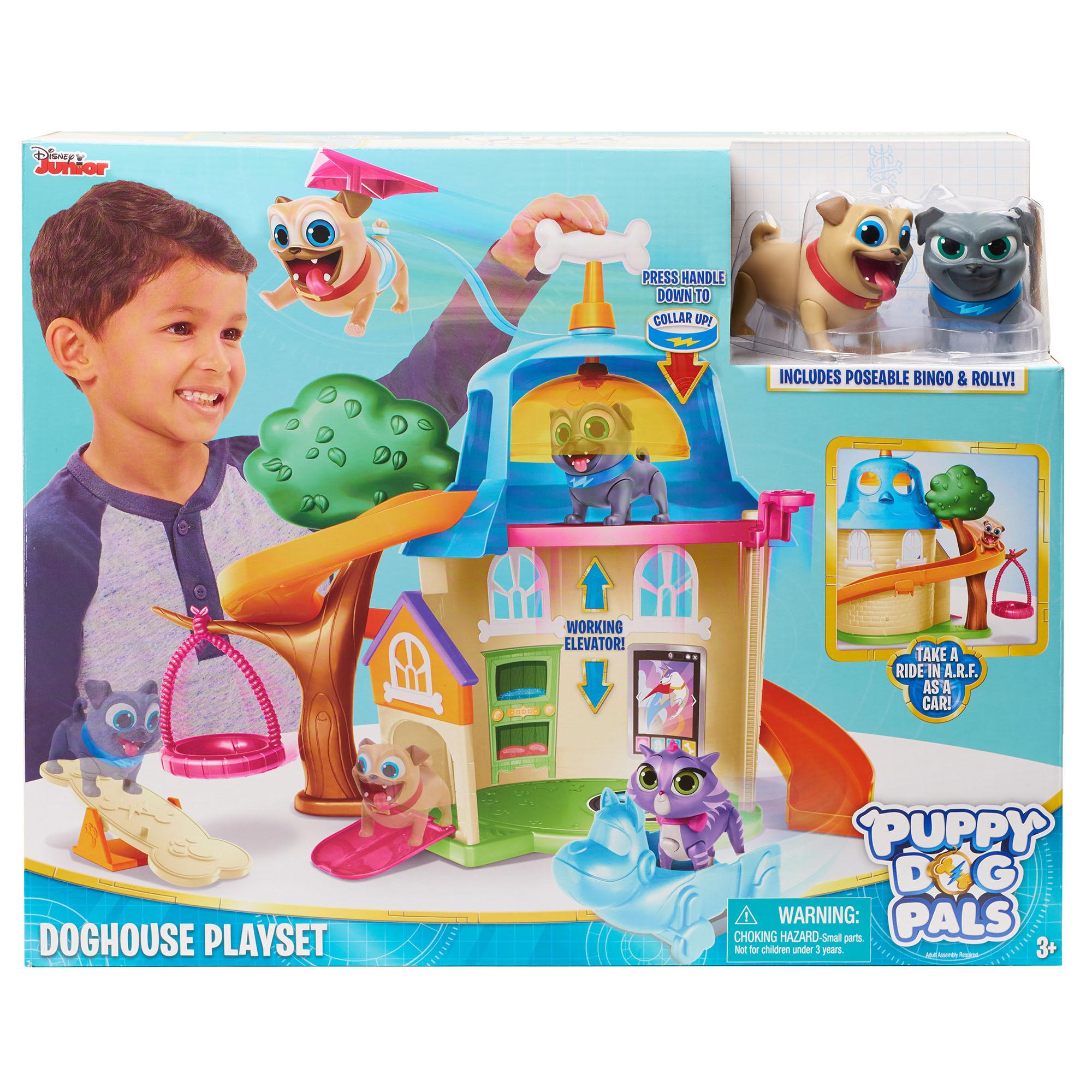 Κουταβοφιλαράκια - Puppy Dog Pals Σετ Παιχνιδιού-Σκυλόσπιτο (PUY01000)