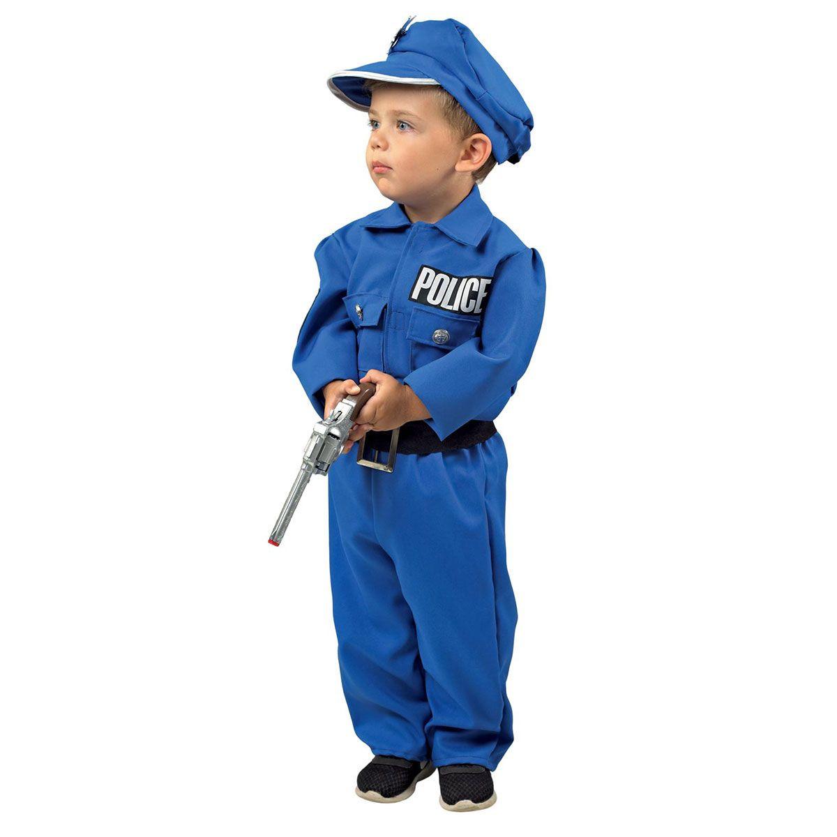 Αποκριάτικη Στολή Αστυνομικός 12 Μηνών (151)