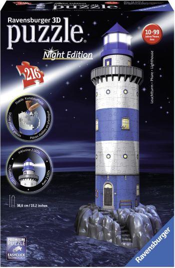 Παζλ 3D Φάρος-Νυχτερινή Έκδοση (12577)