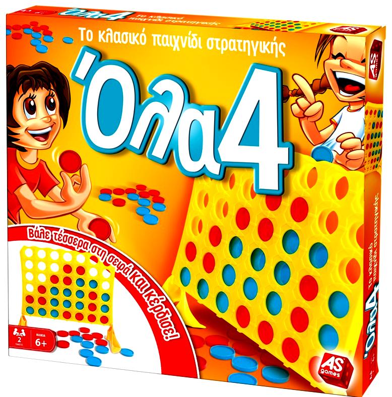 Επιτραπέζιο Παιχνίδι Όλα 4