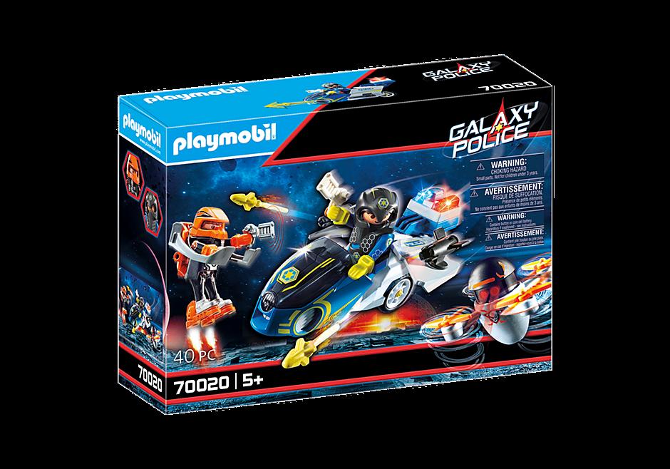 Playmobil Μοτοσικλέτα Galaxy Police 70020