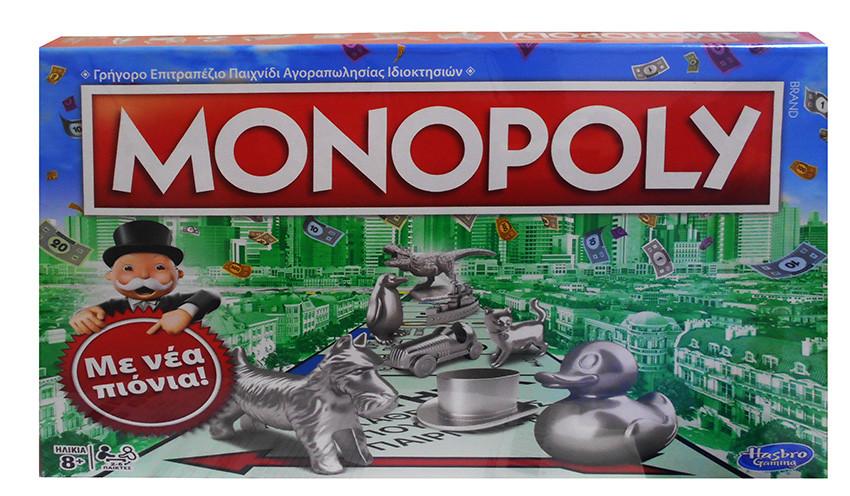 ΕΠΙΤΡΑΠΕΖΙΟ ΠΑΙΧΝΙΔΙ MONOPOLY CLASSIC (C1009)