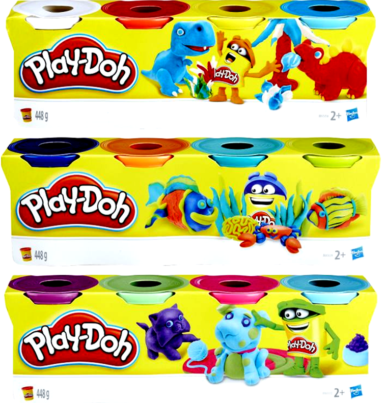 Playdoh Classic Color (3 Σχέδια) (B5517)