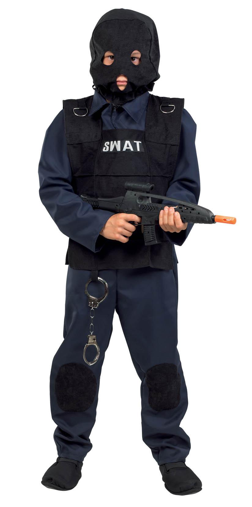 Αποκριάτικη Στολή Αστυνομικός Μυστικής Ομάδας S.W.A.T. Νο. 10 (342)