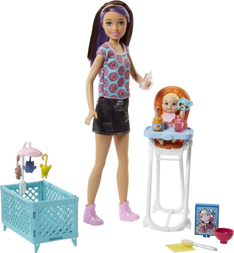 Barbie Σκίπερ Babysitter-Μια Μέρα Με Το Μωρό (FHY98)