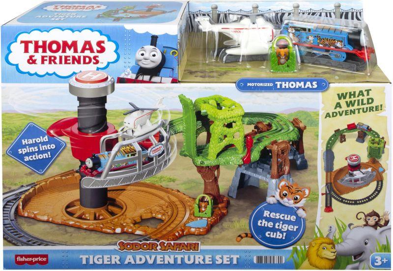 Fisher Price Thomas Διάσωση Της Τίγρης Σετ Περιπέτειας (GXH06)