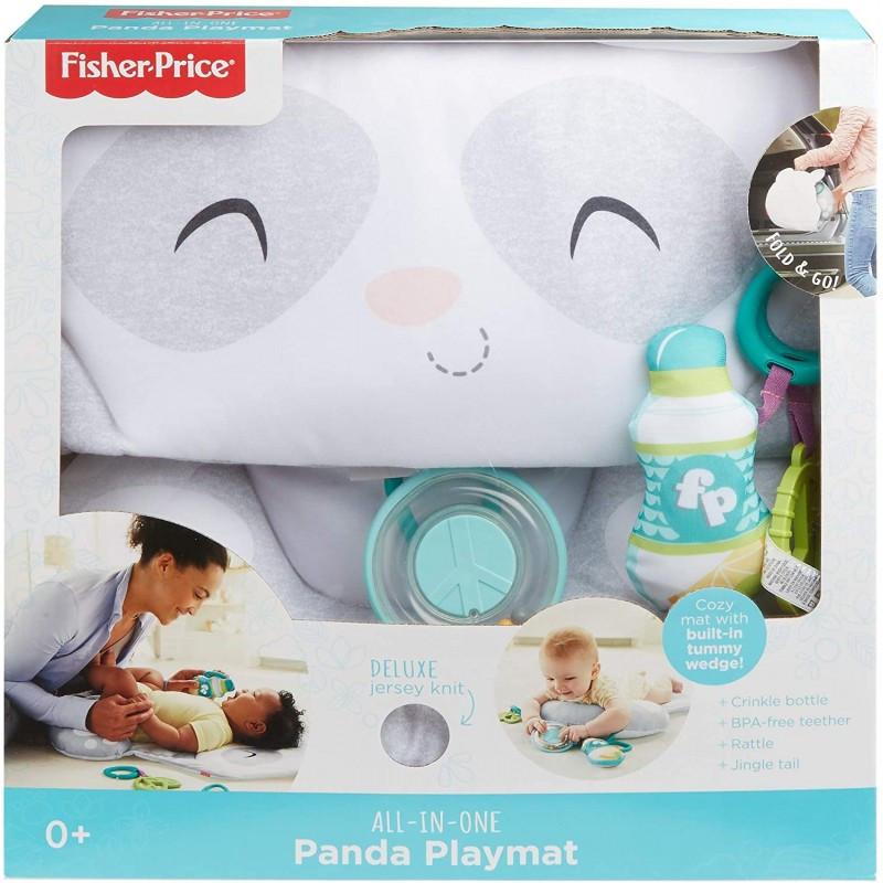 Fisher-Price All-In-One Panda Χαλάκι Δραστηριοτήτων Πάντα GJD28