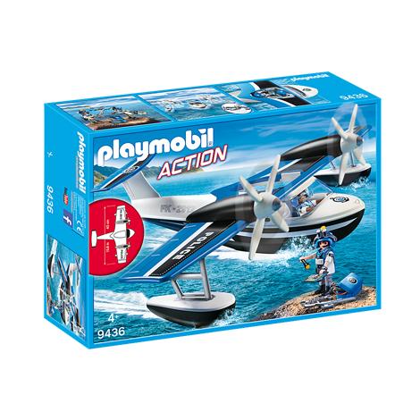 PLAYMOBIL Αστυνομικό υδροπλάνο (9436)