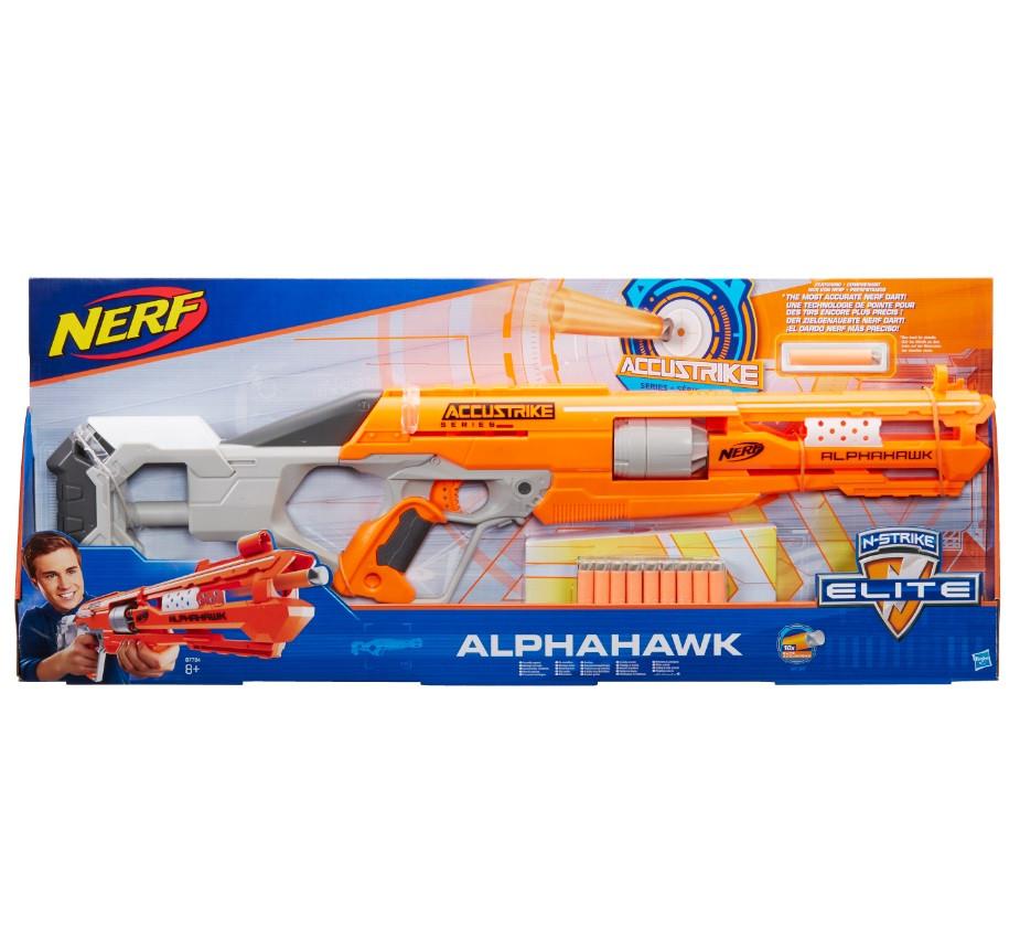NERF NSTRIKE ACCUSTRIKE ALPHAHAWK (B7784)