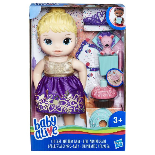 Baby Alive Cupcake Birthday Baby BL (E0596)