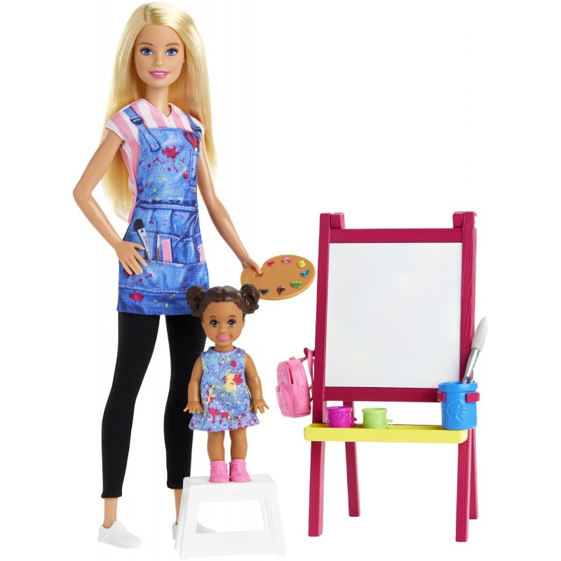 Mattel Barbie Δασκάλα Ζωγραφικής Σετ Παιχνιδιού DHB63 / GJM29