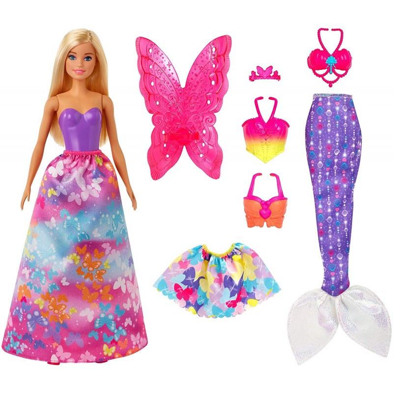 Mattel Barbie Dreamtopia Παραμυθένια Εμφάνιση Σετ Δώρου (GJK40)