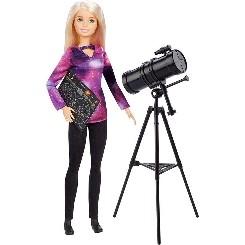 Mattel Barbie National Geographic Αστρονόμος Κούκλα GDM47