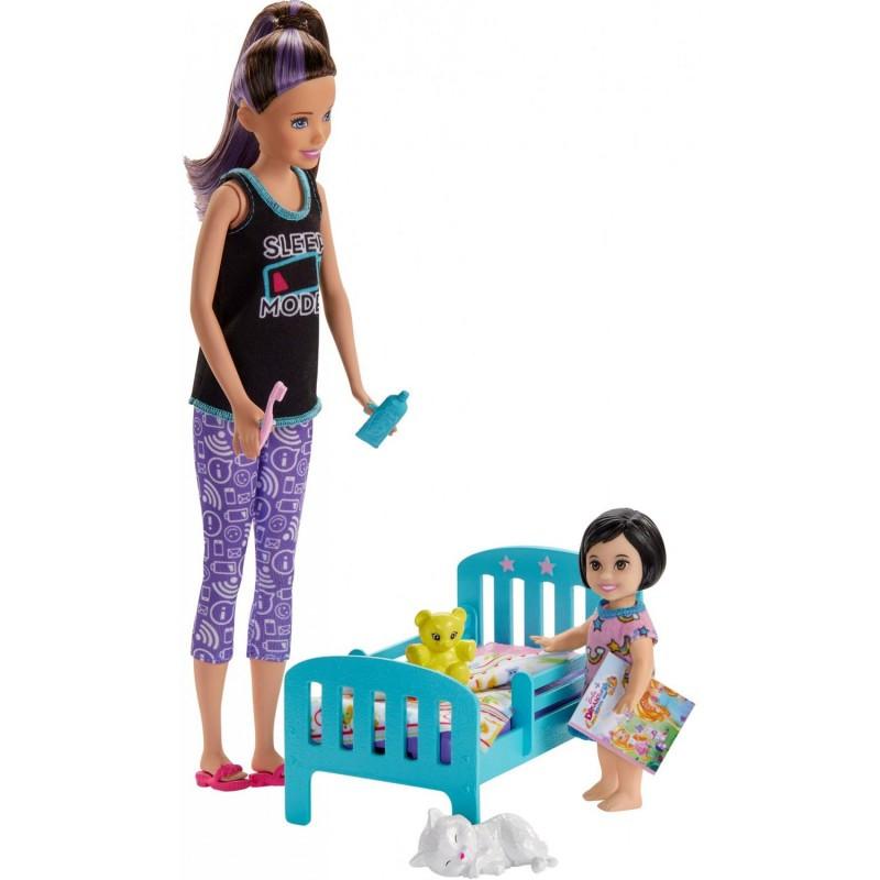 Mattel Barbie Skipper Babysitters - Ώρα Για Ύπνο (GHV88)