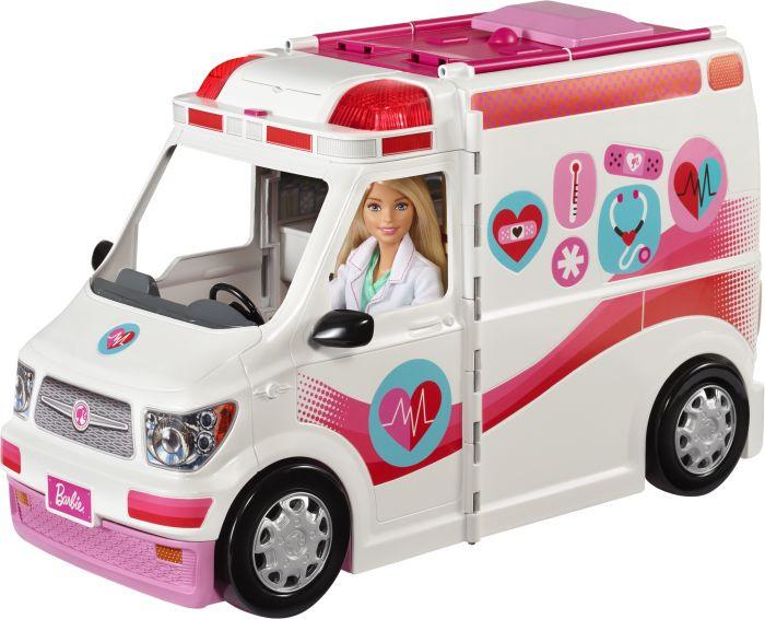 Barbie Κινητό Ιατρείο-Ασθενοφόρο (FRM19)