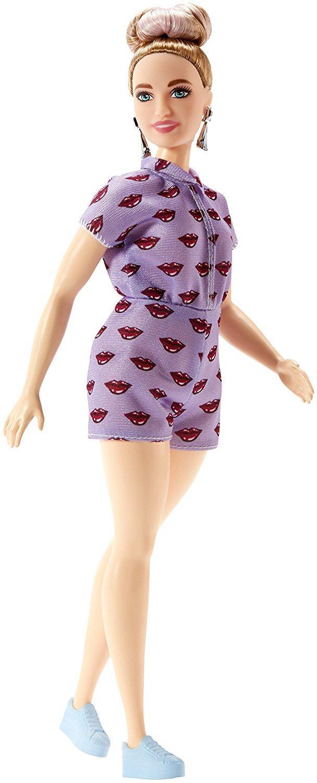 Barbie Fashionistas - Lavendar Kiss - Curvy Doll (FJF40)