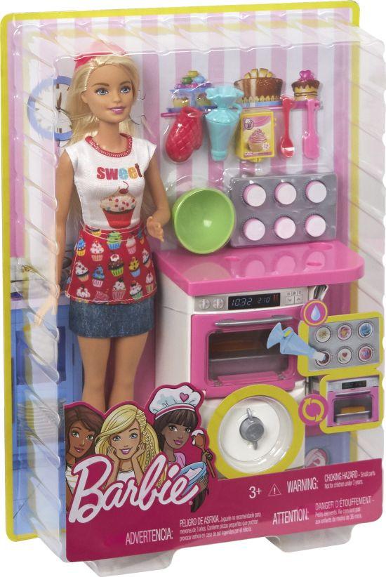 Barbie Ζαχαροπλάστης Σετ (FHP57)
