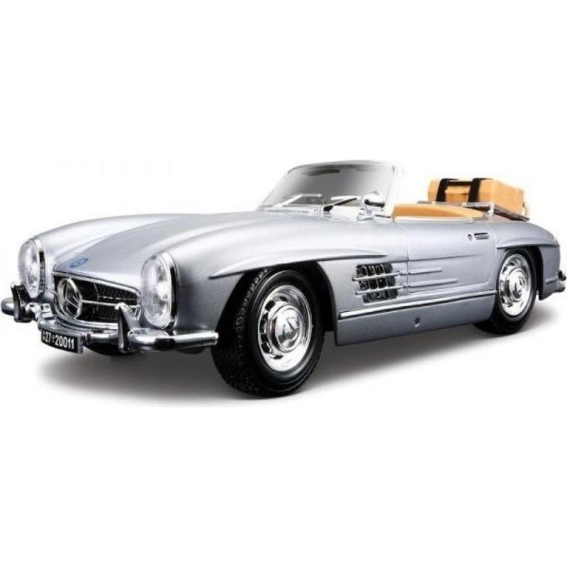 Burago 1:18 Mercedes-Benz 300 SL Touring (1957) Aσημί (12049)