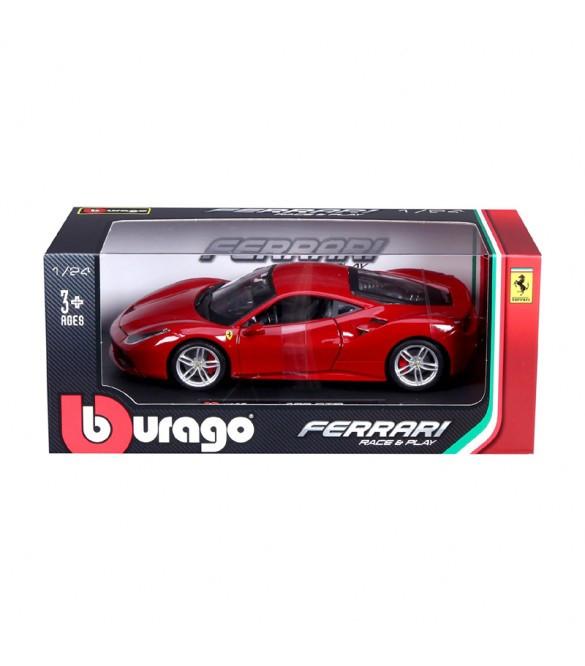 Burago 1:24 Ferrari 488 GTB κόκκινη
