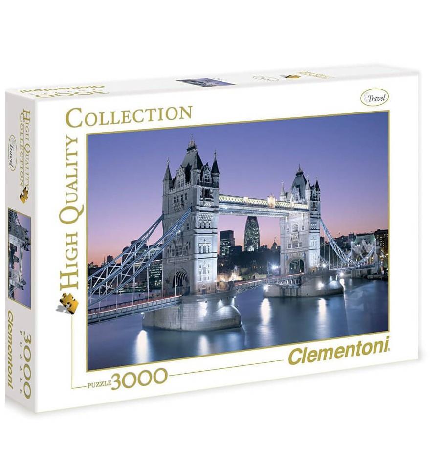 Clementoni Παζλ Η Γέφυρα Του Λονδίνου 3.000τεμ (1220-33527)