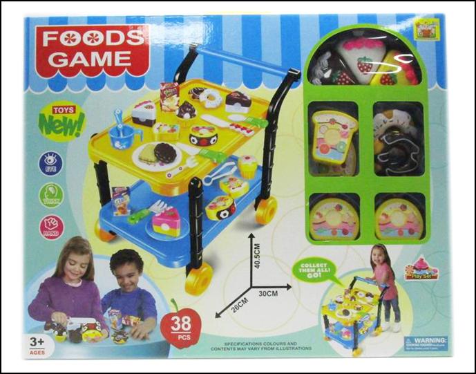 FOODS GAME 50X40cm (ZA-36778-86)