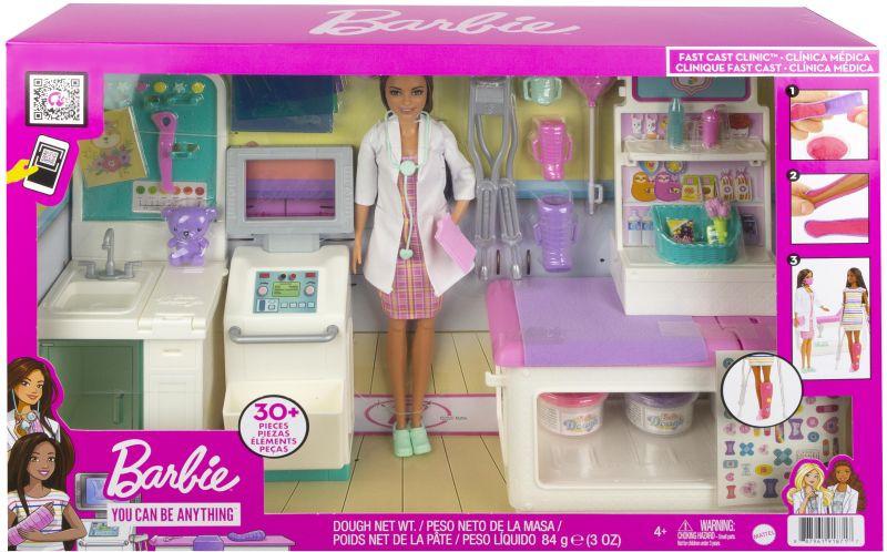 Barbie Κλινική Σετ Με Κούκλα (GTN61)
