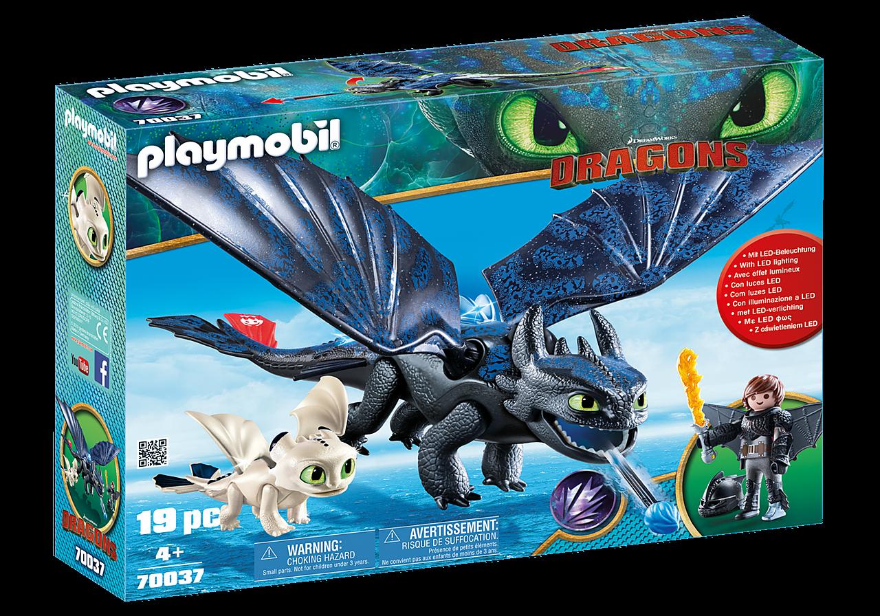 Playmobil Ο Φαφούτης κι ο Ψάρης με ένα Δρακούλη  (70037)