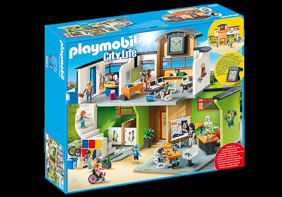 Playmobil Επιπλωμένο Σχολικό Κτίριο (9453)