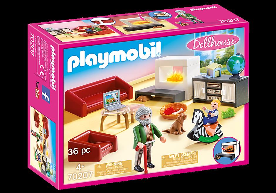 Playmobil Σαλόνι κουκλόσπιτου 70207