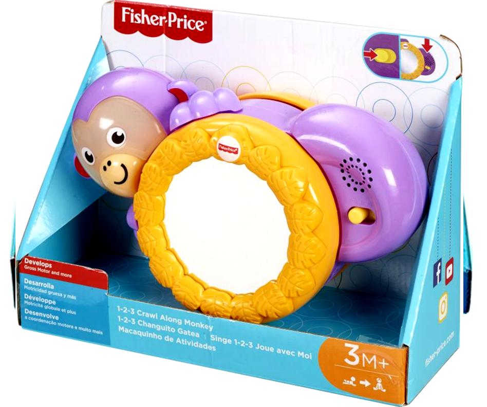 Fisher Price Μουσικό Μαϊμουδάκι Δραστηριοτήτων (FHF75)