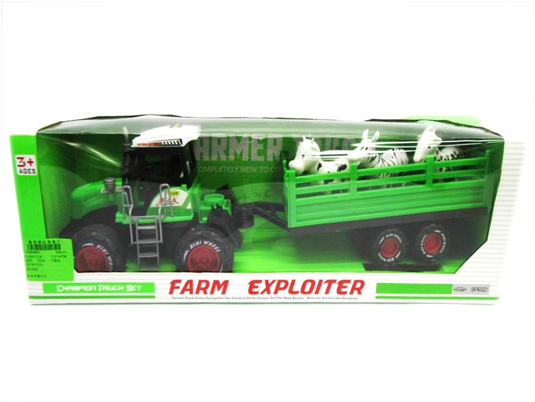 FRICTION CAR 50X16cm  (ZA-698-4A)