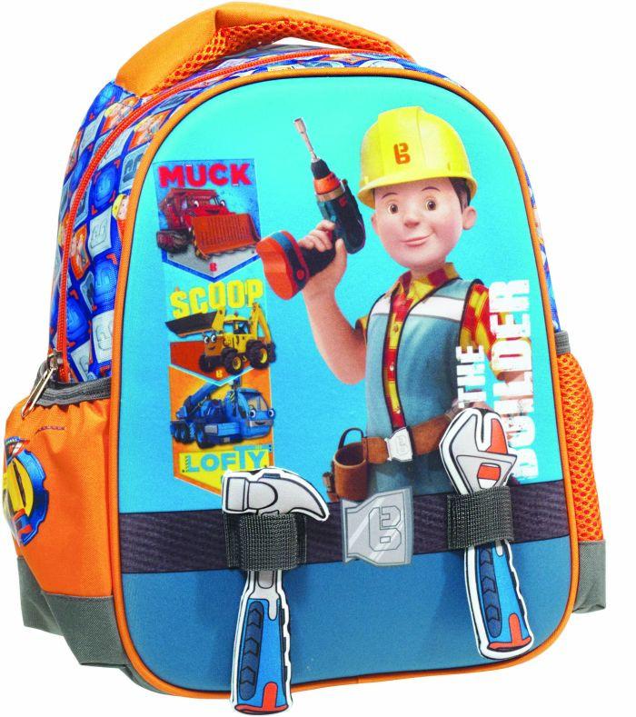 GIM Bob The Builder Tools Σακίδιο Νηπιαγωγείου (349-41054)