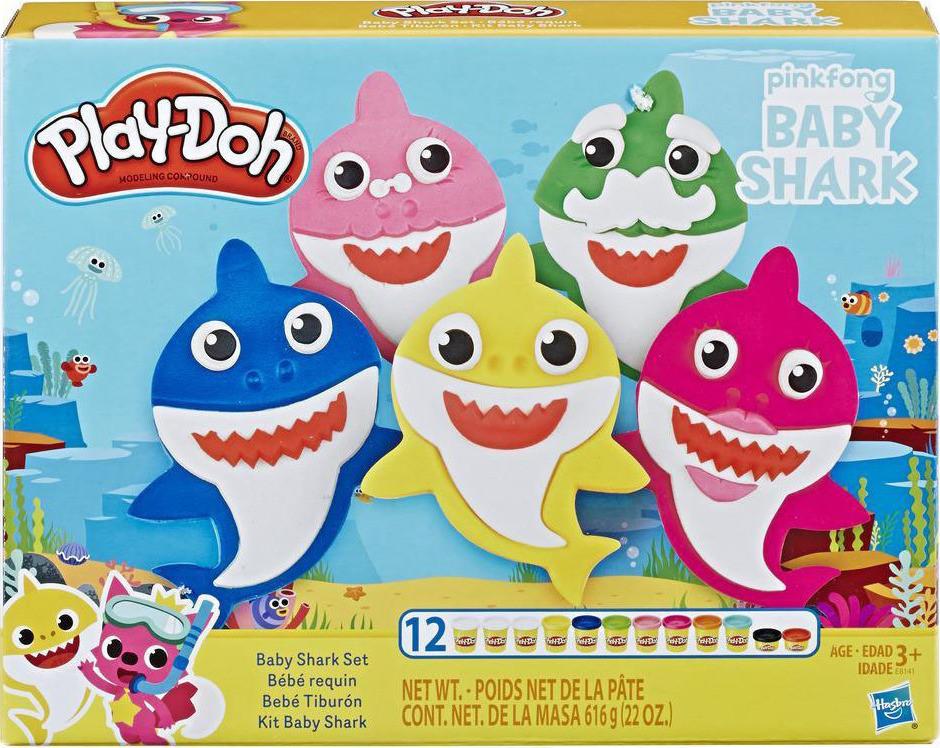 Hasbro Play-Doh Baby Shark Set (E8141)