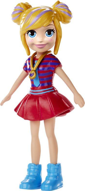 Polly Pocket Polly Κούκλα Με Αξεσουάρ-6 Σχέδια (GCD63)