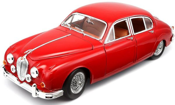 Burago 1:18 Jaguar Mark II (1959) ΚΟΚΚΙΝΟ (12009)