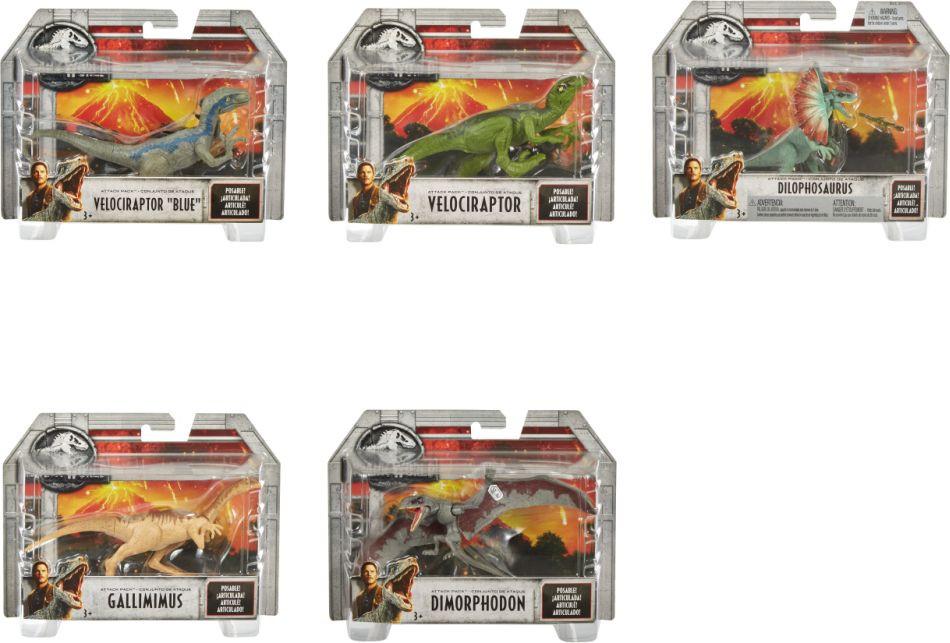 Jurassic World Φιγούρες Δεινοσαύρων (5 Σχέδια) (FPF11)
