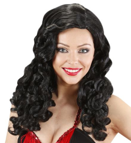 """""""BLACK JESSICA WIGS"""" (long curly hair)"""