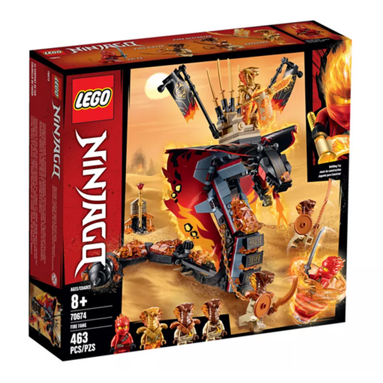 LEGO NINJAGO Fire Fang(70674)