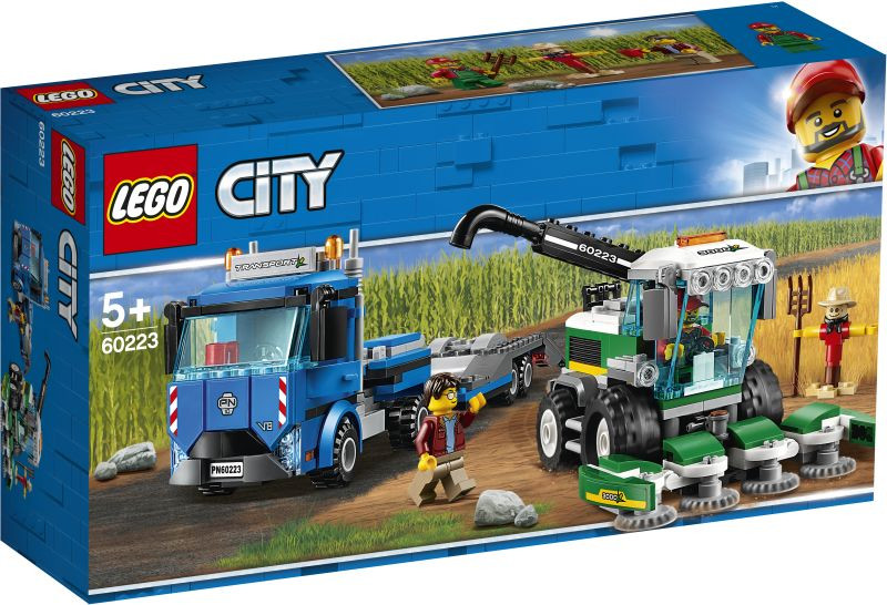 LEGO City Harvester Transport (60223)