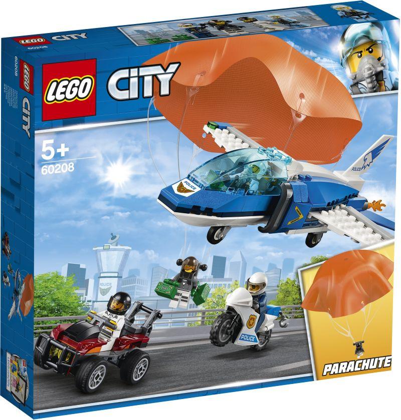 LEGO City Sky Police Parachute Arrest (60208)