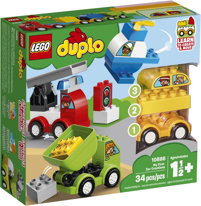 LEGO Duplo - My First Car Creations (10886)