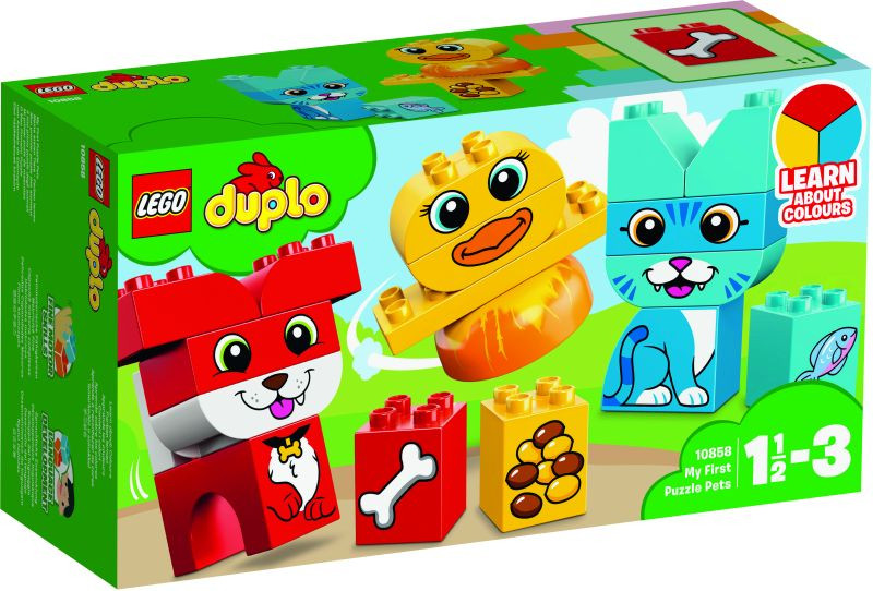 LEGO Duplo My First Puzzle Pets (10858)