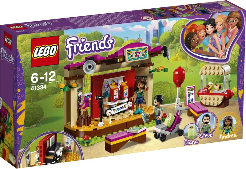 LEGO Friends Andrea's Park Performance (41334)