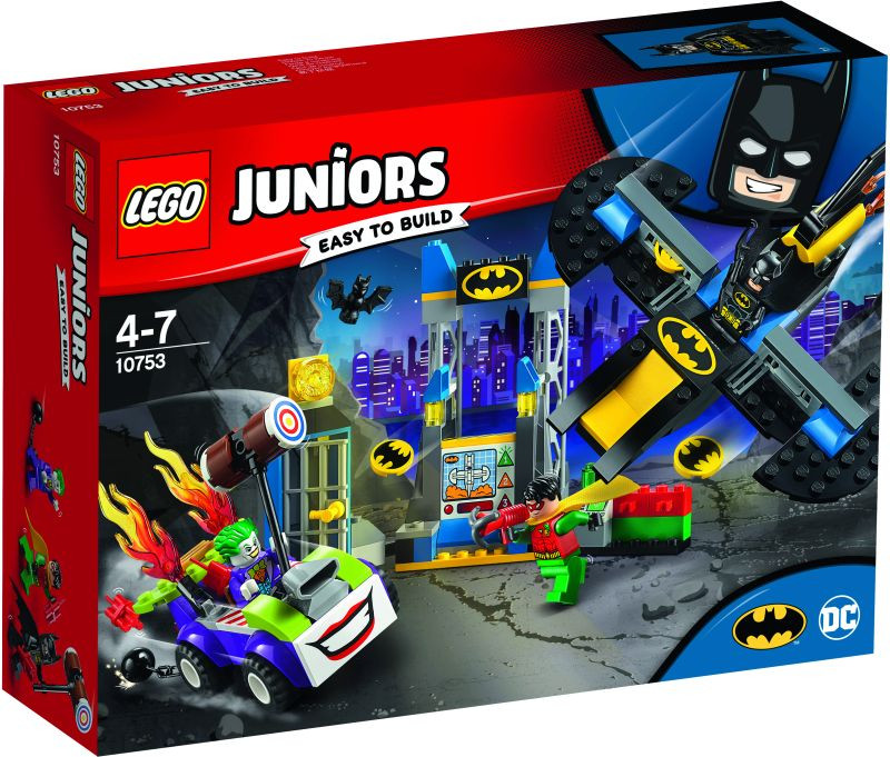 LEGO Juniors The Joker Batcave Attack (10753)