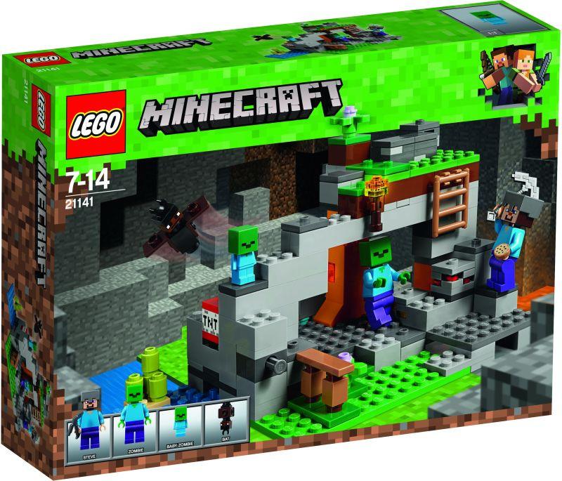 LEGO Minecraft The Zombie Cave (21141)